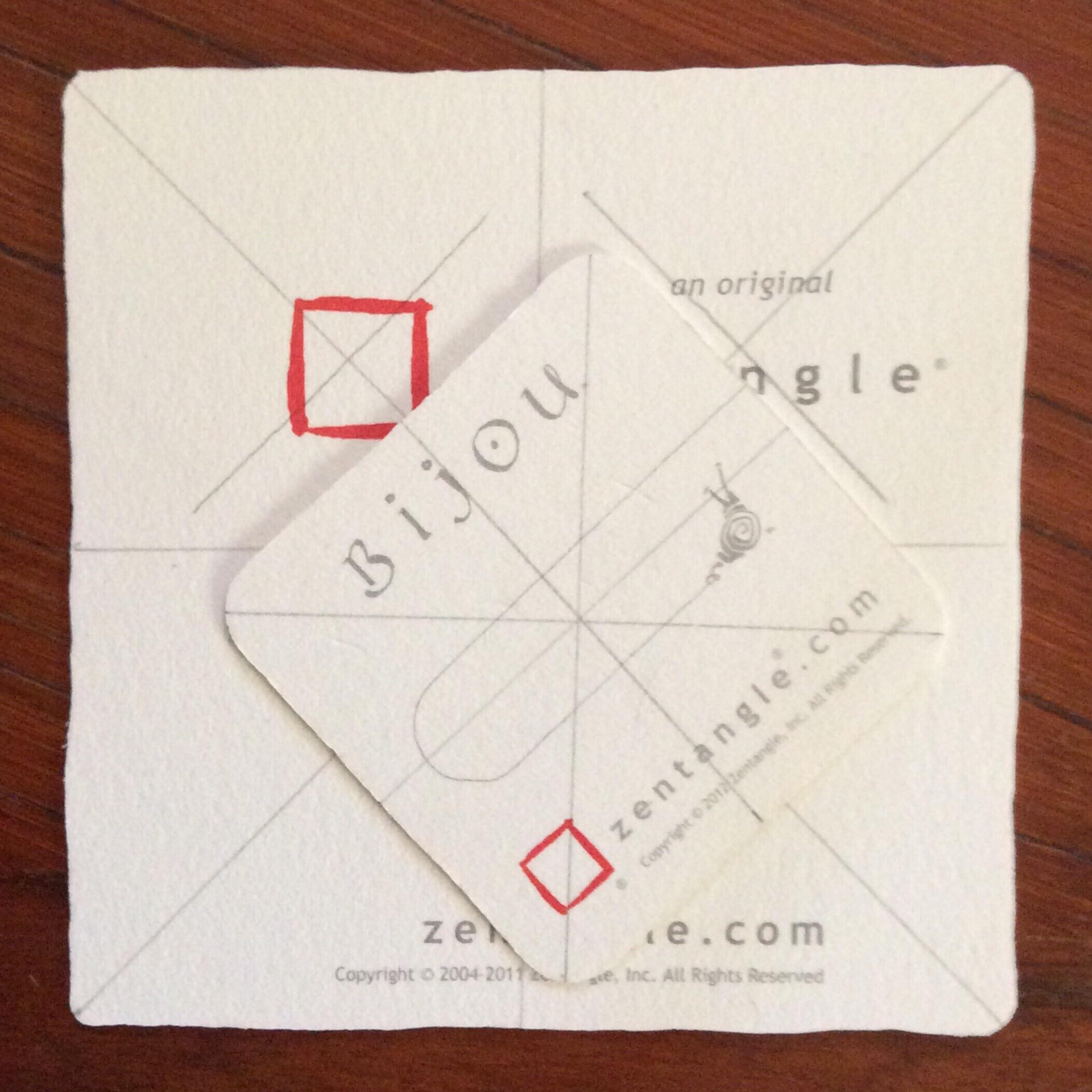 VistaPrint square business card holder – TangleSXM